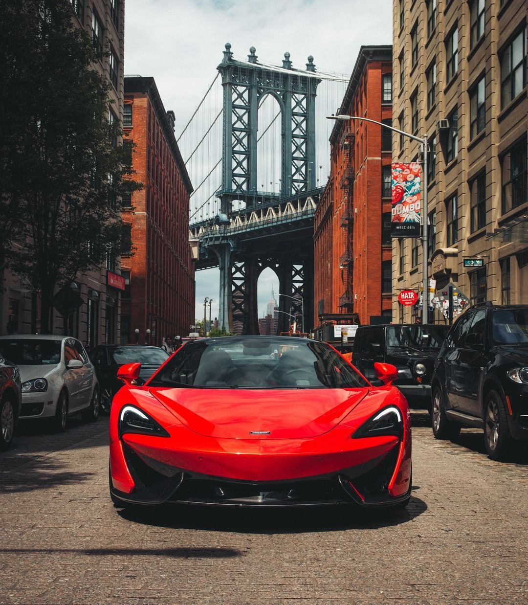 Jaguar Sport Car Red: #McLarenAdventures In The Big Apple With The #570SSpider