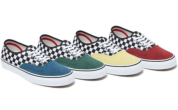 "Supreme x Vans ""Checkered Corduroy"" Pack"