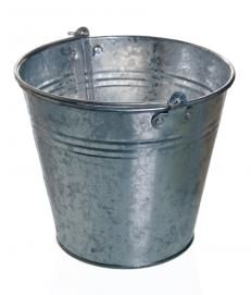 How To Paint An Unpainted Galvanized Steel Bucket So That The
