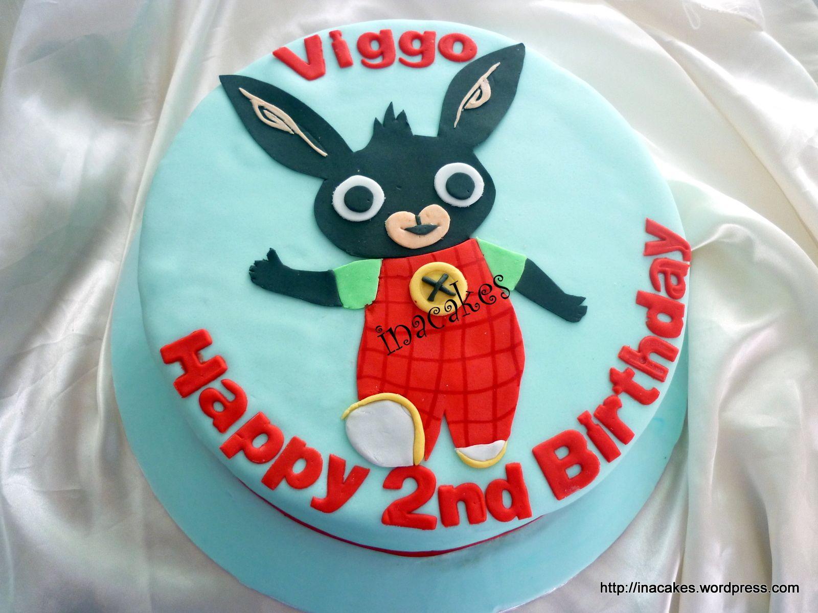 Bing 1 krlik bing Pinterest Birthday cakes Cake and Tattoo cake