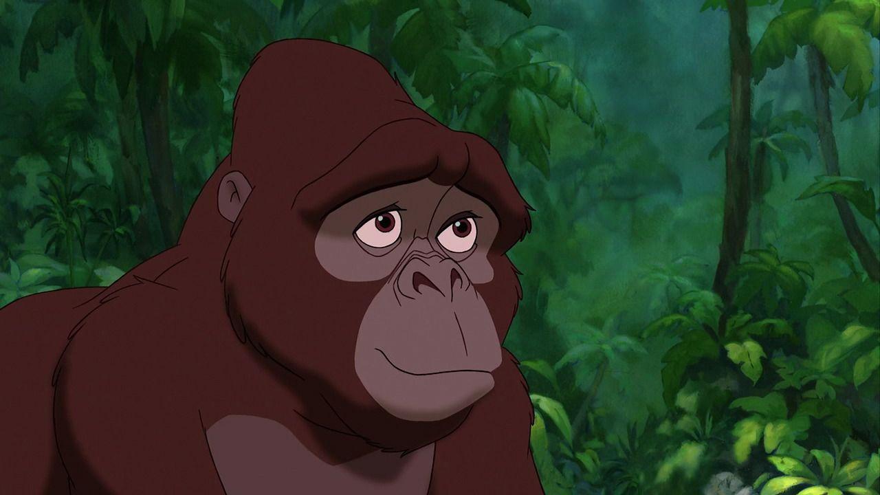 Kala tarzan 39 s adoptive gorilla mother tarzan pinterest more tarzan and disney pixar ideas - Tarzan gorille ...