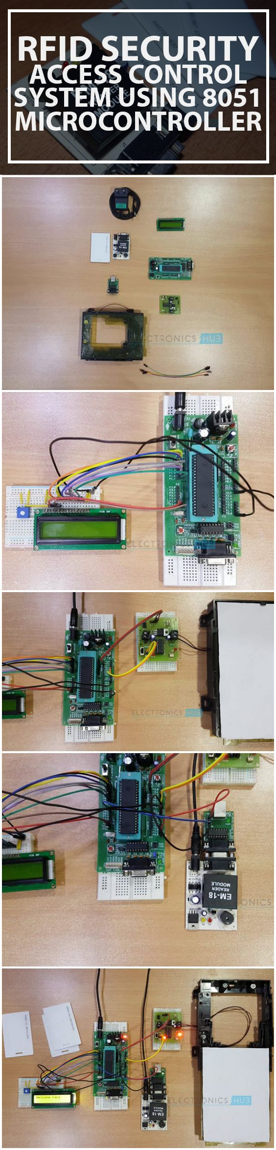 Rfid Security Access Control System Using 8051 Microcontroller Digital Tachometer And Systems