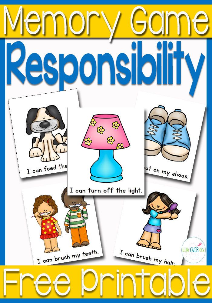 Responsibility Memory Game Easy Reading#!/Responsibility-Memory-Game