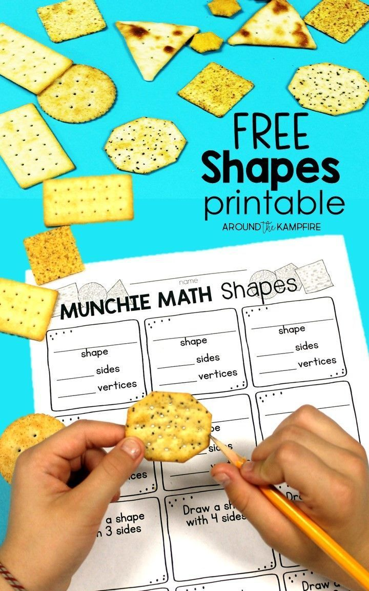 Seriously FUN Ways to Teach Shapes | Classroom resources, Math and ...
