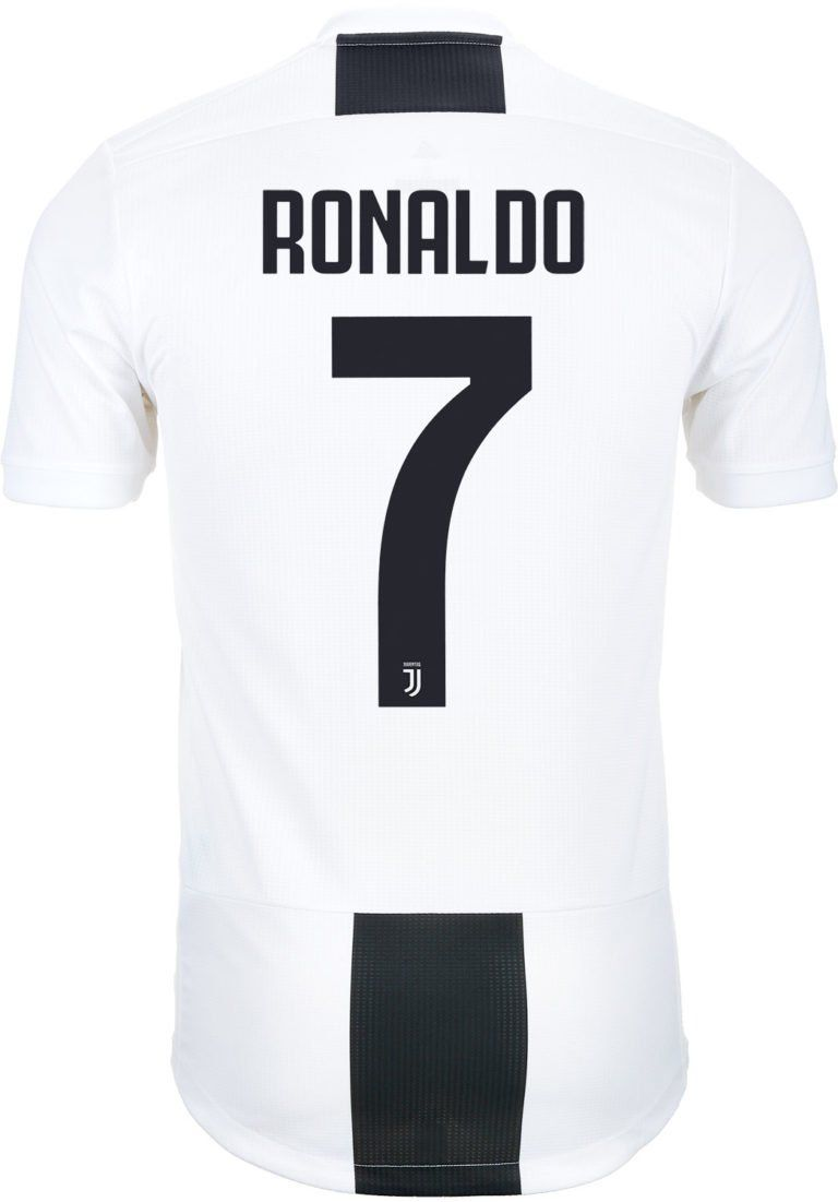 8f0163eebed adidas Cristiano Ronaldo Juventus Home Authentic Jersey 2018-19 ...