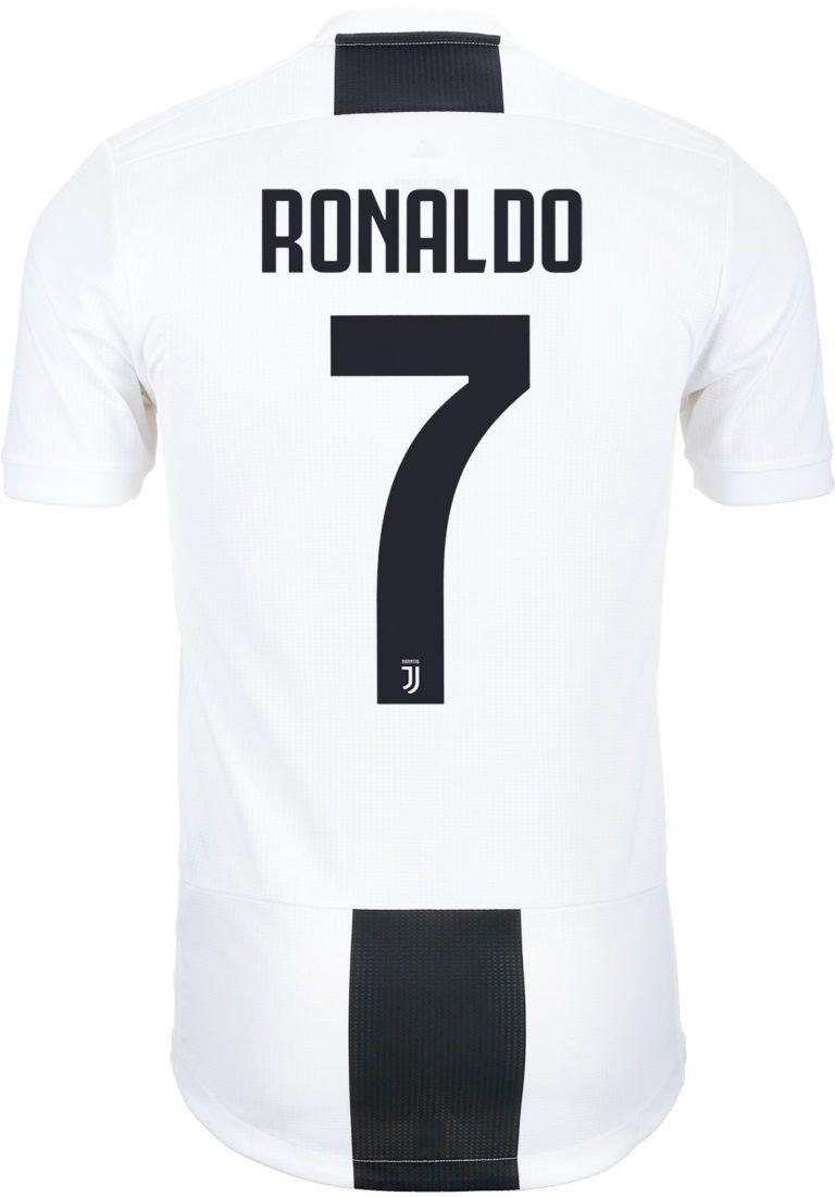 46eb912cb17 adidas Cristiano Ronaldo Juventus Home Authentic Jersey 2018-19 ...