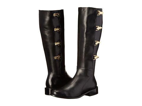 Womens Boots Calvin Klein Gigi Black Cow Kansas/Neoprene