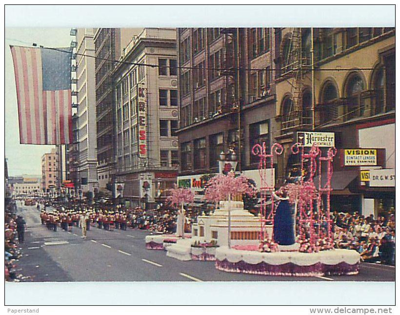 Unused Pre 1980 Rose Parade At Kress Shop Portland Oregon Or Hs2957