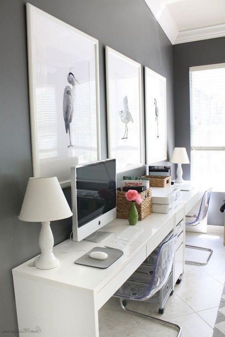 30 Exciting Diy Home Office Desk Ideas With Images Ikea Home