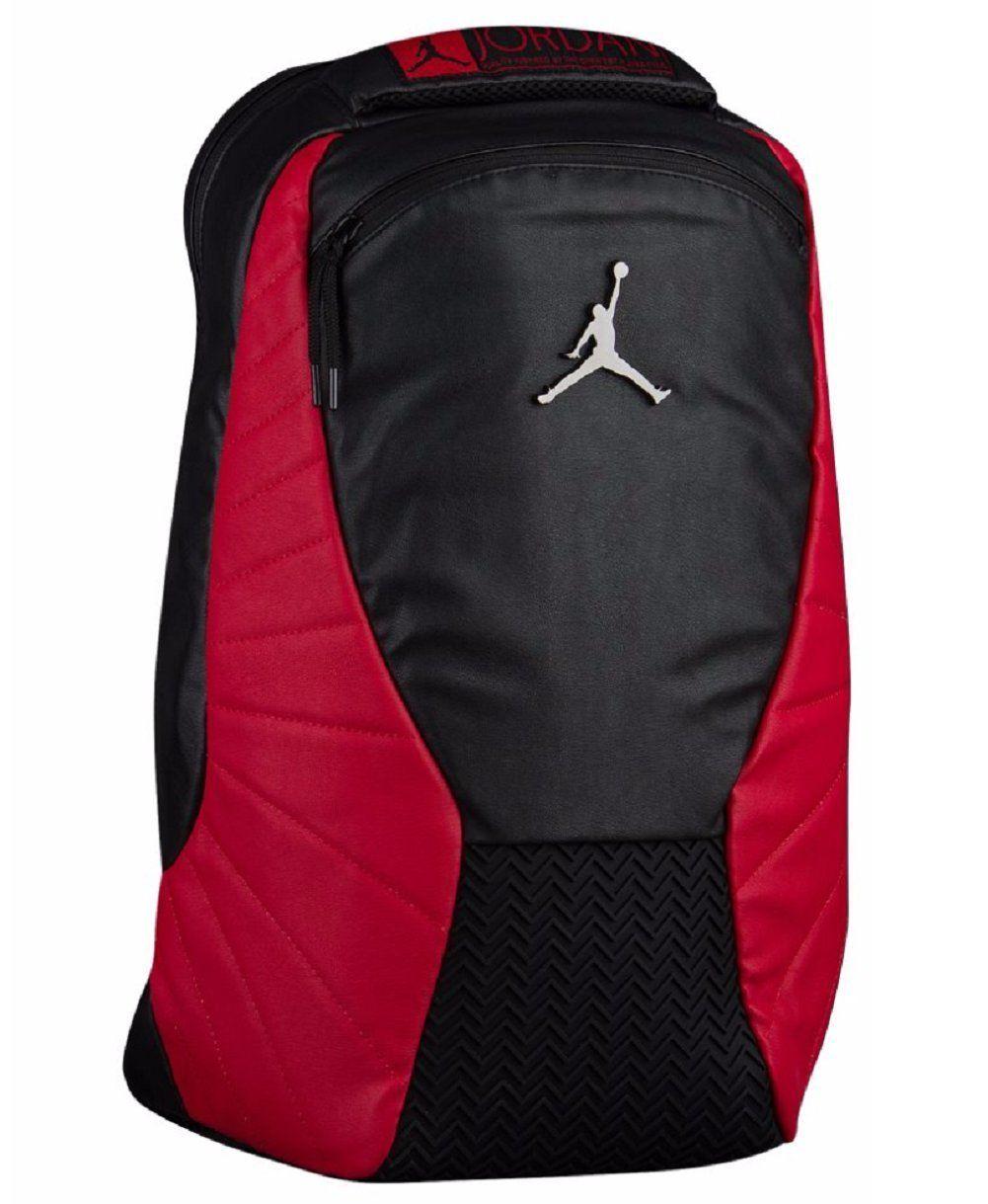 lowest price a46ee 4681b Amazon.com: Nike Jordan Retro 12 Backpack W/ Laptop Pocket ...