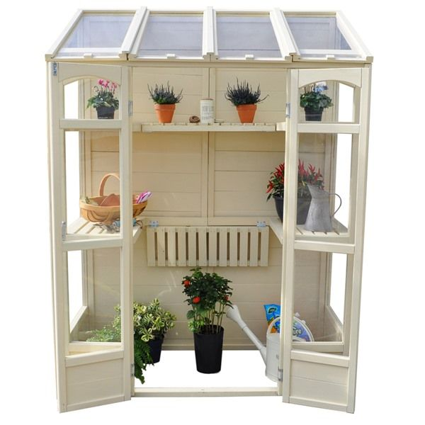 Forest Garden Victorian Tall Wall Greenhouse | Internet ...