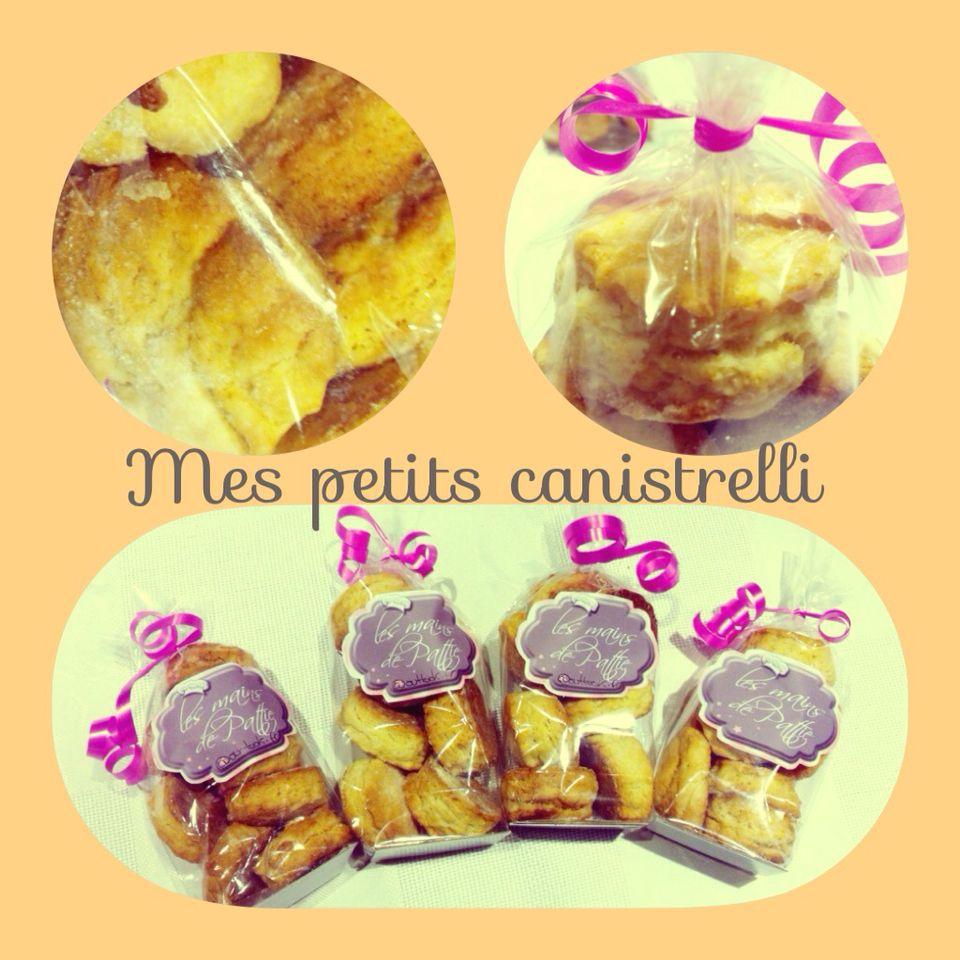 Canistrelli (biscuit corse) citron, orange, amande, anis, vanille...