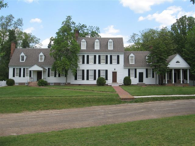 Coke Garrett House Williamsburg Colonial Williamsburg House