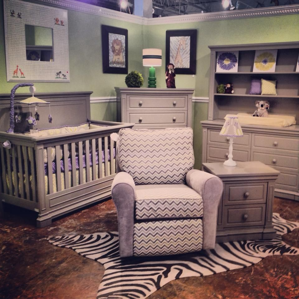 Jackson Crib, Dresser, Hutch, Chest, and Nightstand in Grey. www ...