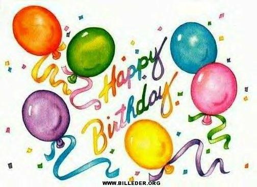fødselsdag billeder til at dele på Facebook