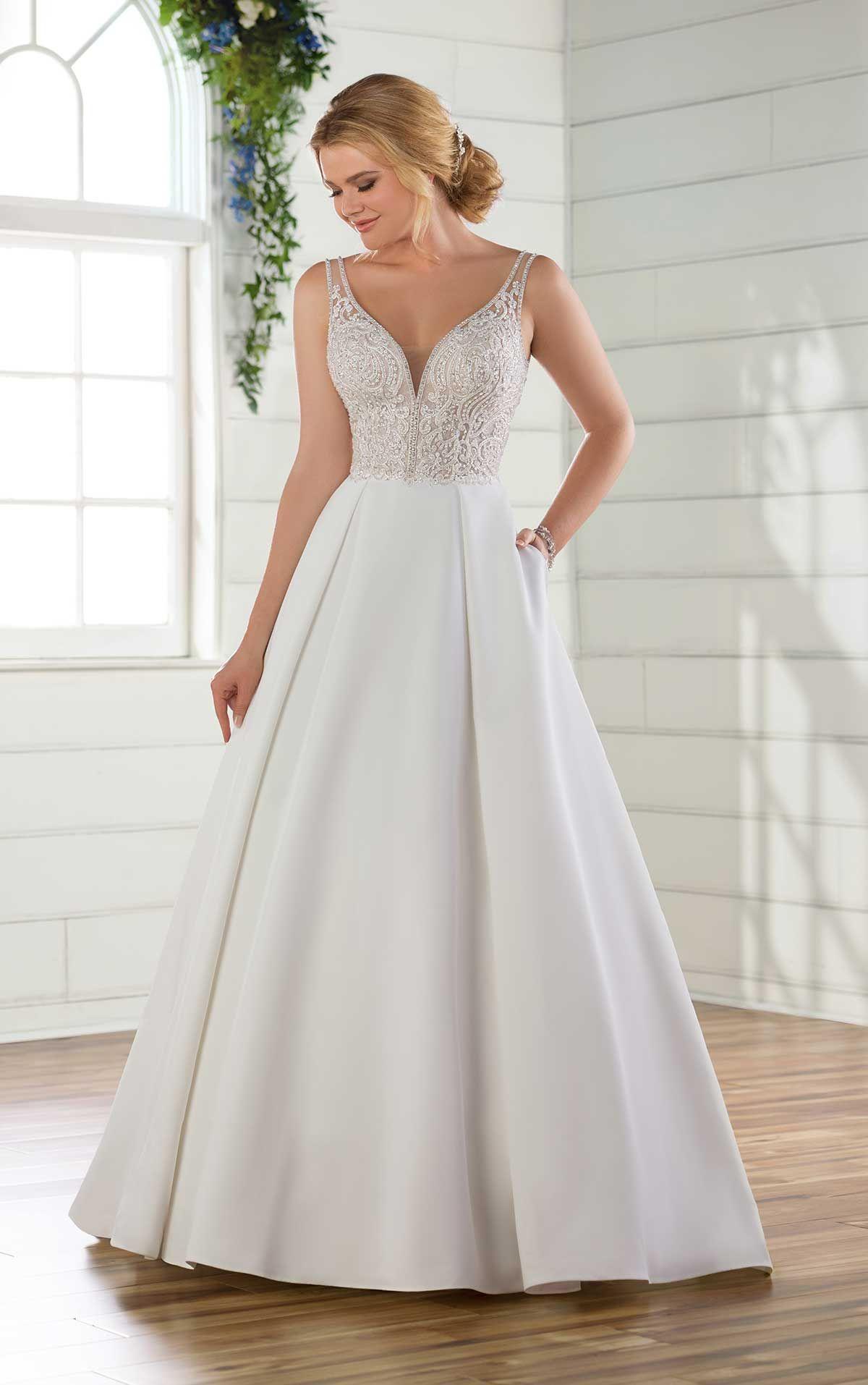 45547f00f884e Essense of Australia D2627- Find gown @ De Ma Fille Bridal in Ft. Worth,  TX. 817.921.2964, www.demafille.com