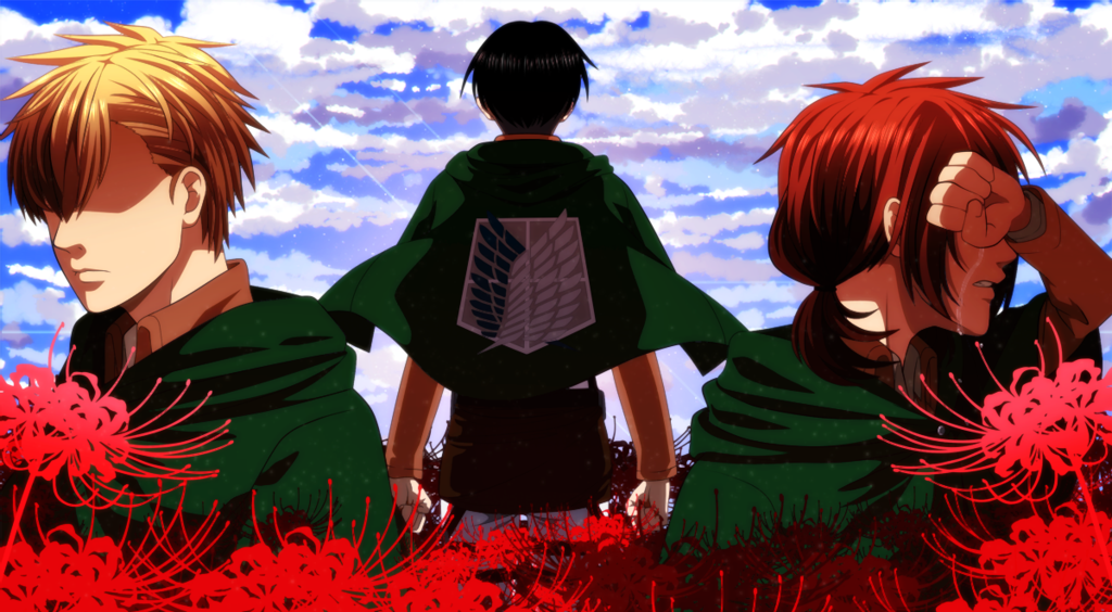 Farlan, Levi, and Isabel // AoT
