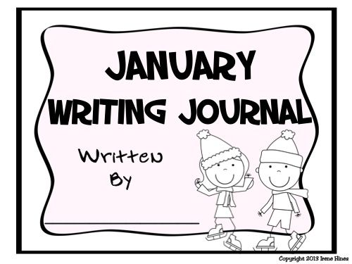 Journal Writing ~ January and Winter Writing Prompt