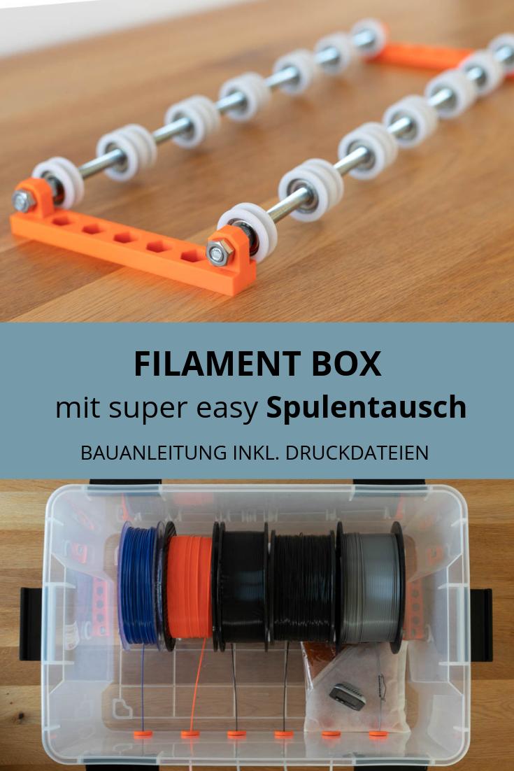 DIY Filament Box selber bauen - die ANYBOX V1