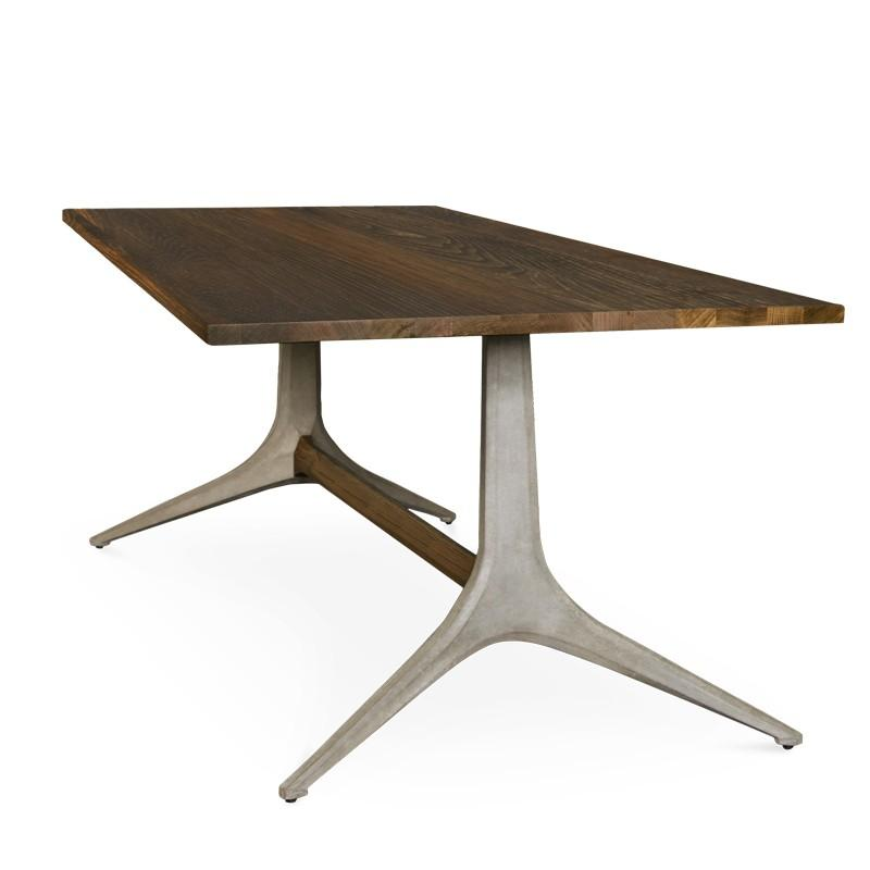 Keller Dining Table Denver Modern Dining Table Trestle Dining