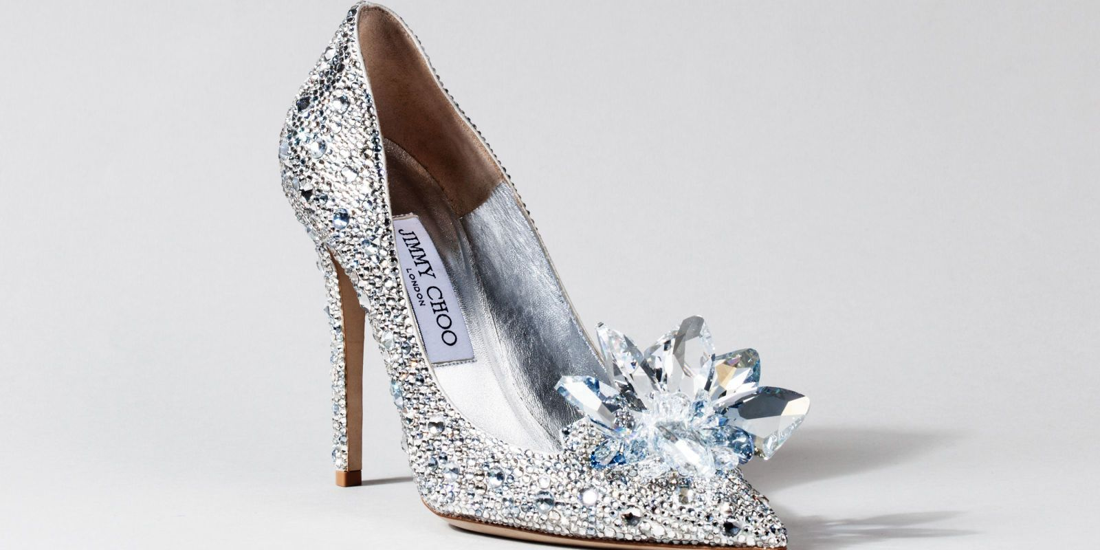 Cinderella's slippers as designed by Jimmy Choo -Cosmopolitan.co.uk