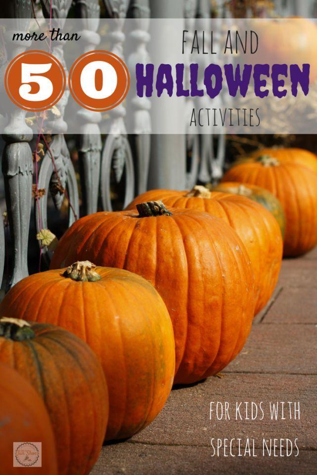 Fall Halloween Activities
