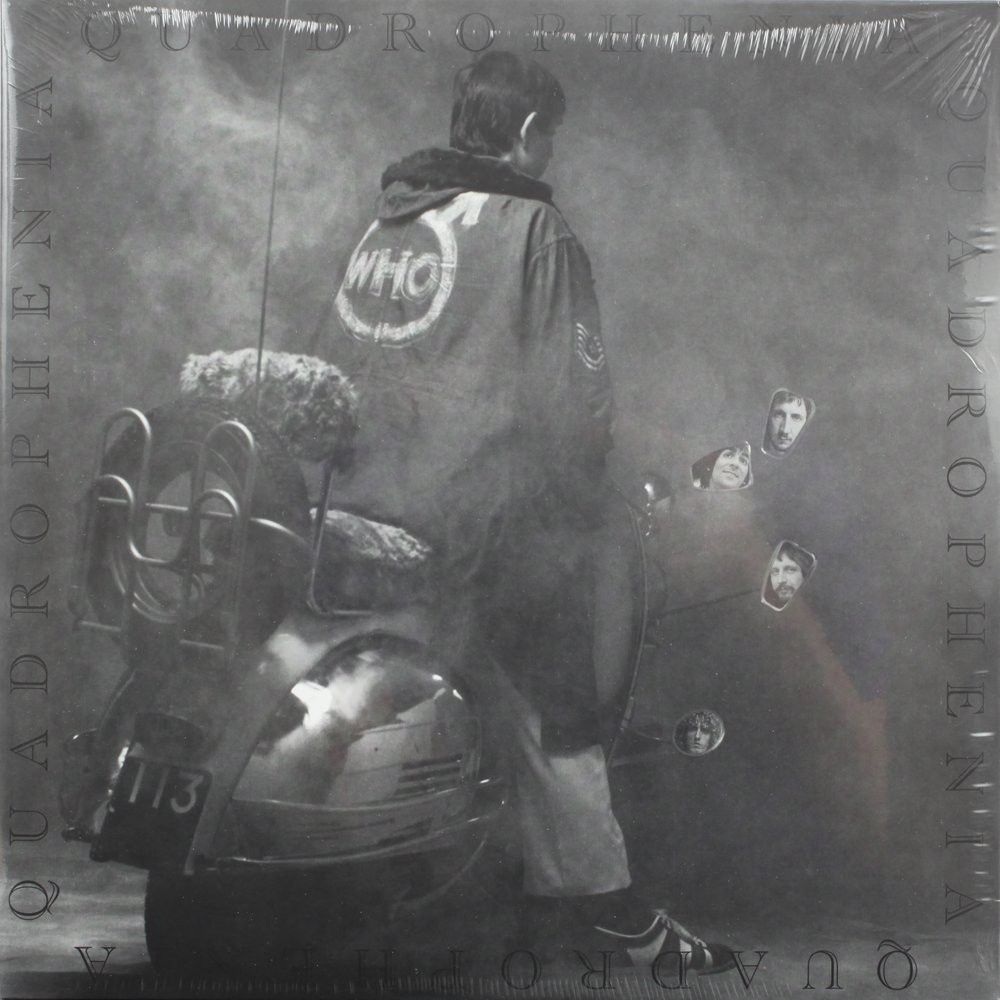 Who Quadrophenia Album Cover Art Iconic Album Covers Posters Art Prints