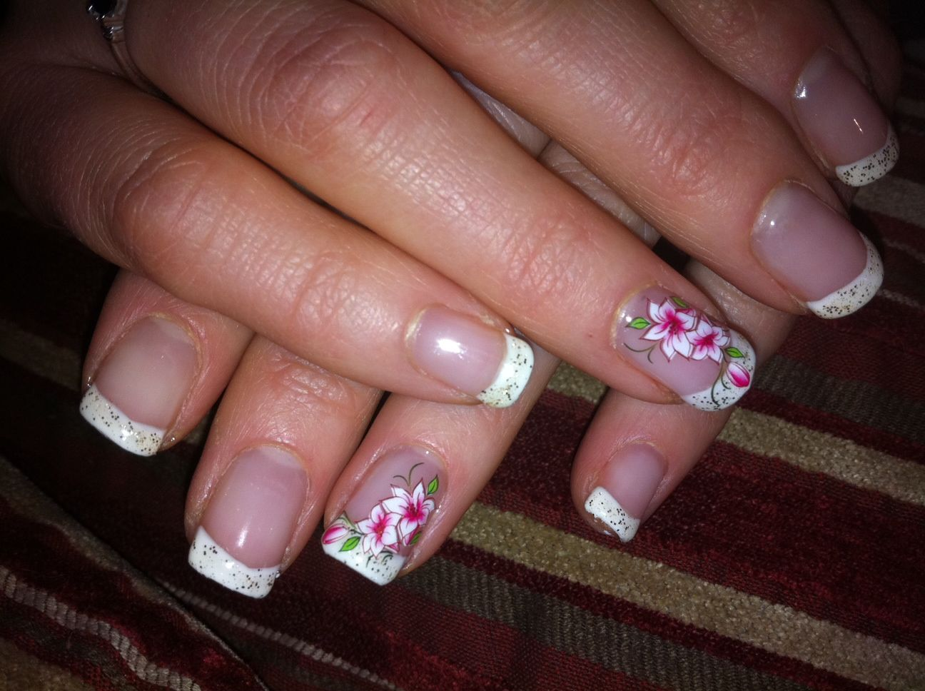 10 best images about Manicure French Nail Art on Pinterest | Nail ...