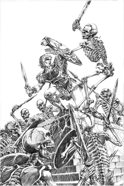 Jason The Argonauts Skulls Skeletons Pinterest Mythology