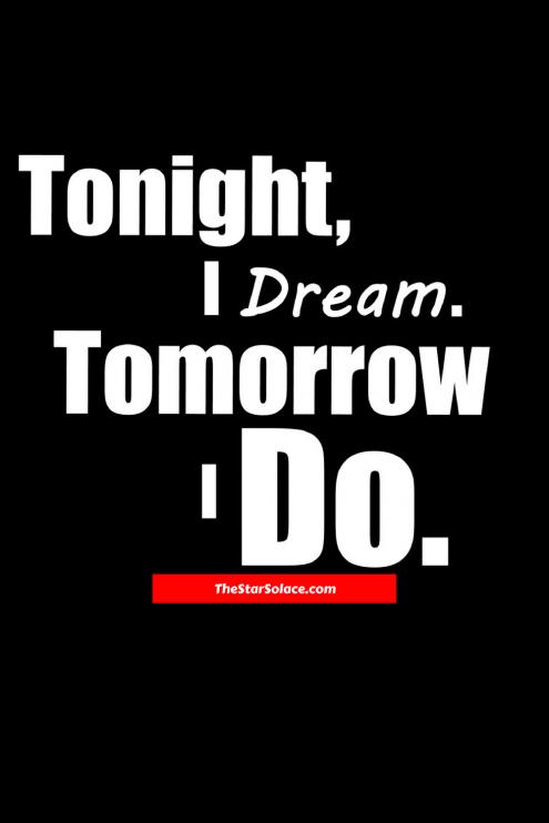 Tonight I Dream Tomorrow I DO ar solacedream