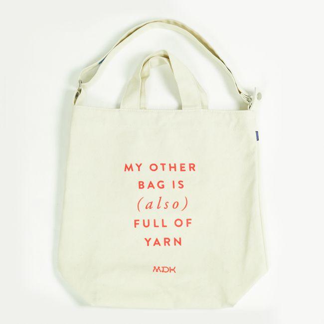 Also Full Of Yarn Bag My Other Bag Yarn Bag Bags