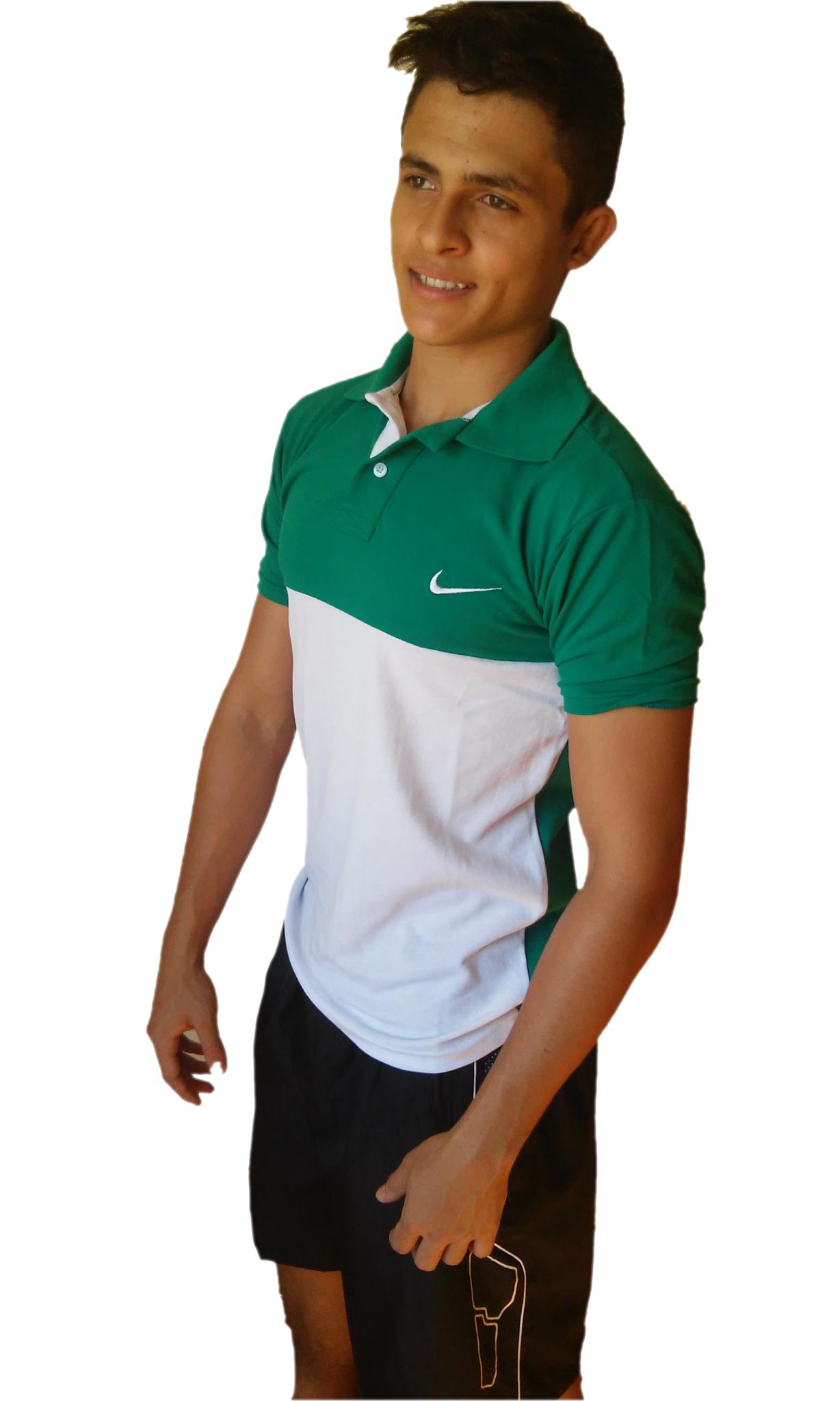 A Camisa Polo Nike Xtreme Fitness Sport Piquet Manga Curta 30% - Verde com  Branco a3221f0163