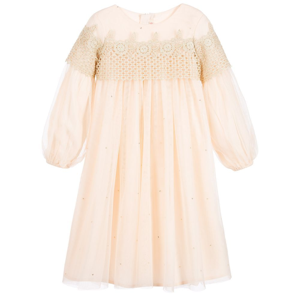 f64f09a5bacd Billieblush - Girls Pink Tulle Dress