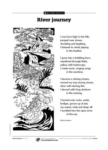 'River journey' poem
