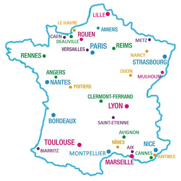 Airfrance Main Office Maps Posts Reserve Unit Offices Magenta