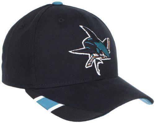 NHL San Jose Sharks Structured Adjustable Hat 8501a34b4f71