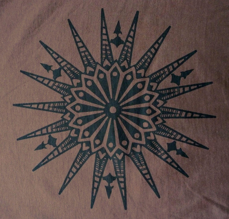 Travel Blessing pass Mandala in Black Tattoos