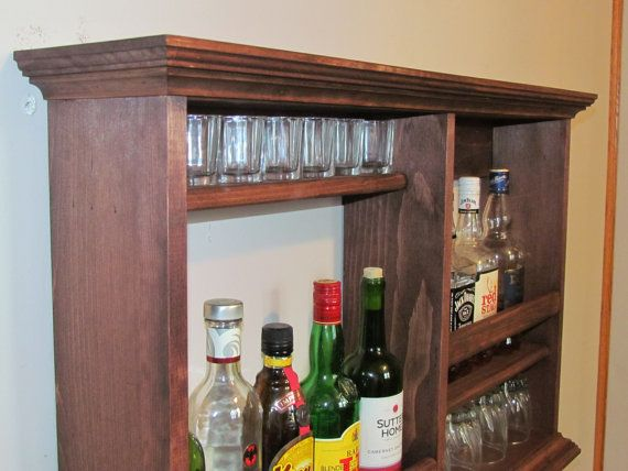 Luxury Wall Mounted Mini Bar