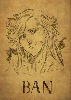 Metal Poster Nanatsu No Taizai Ban