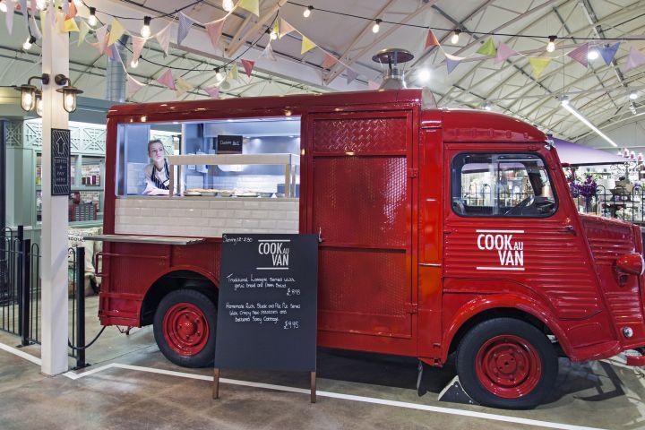 notcutts vans at wheatcroft by dalziel and pow nottingham uk fast food a public storefood truck designnottingham
