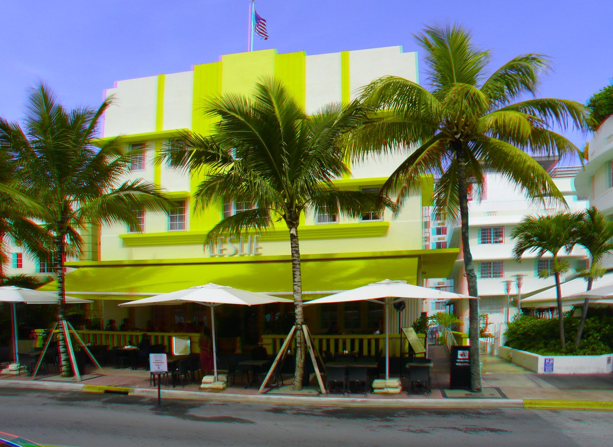 1244 Ocean Drive The Leslie Hotel Built 1937 Architect