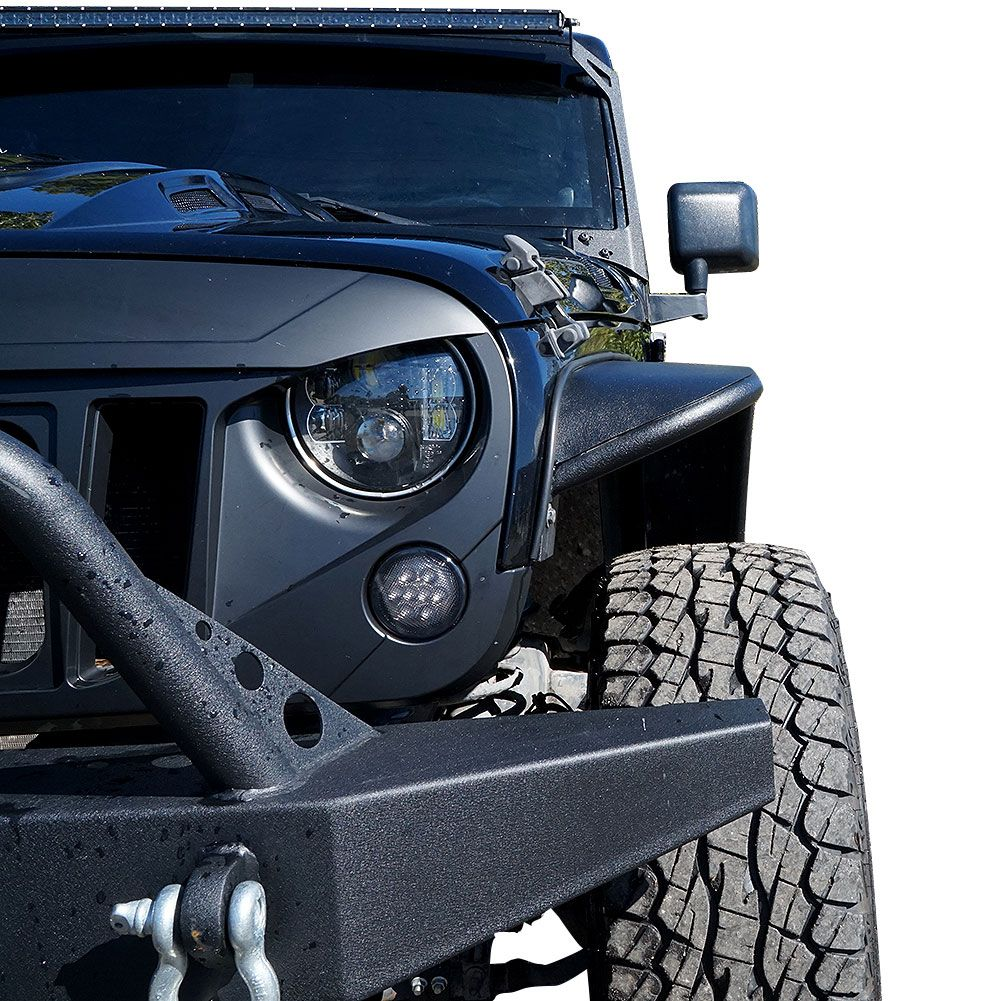 The Best Tube Steel Fenders For Jeep Wrangler 2007 2017 Jk On Sale Click To See ジープ
