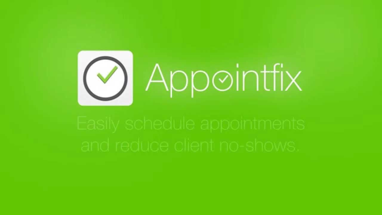 Appointfix promo clip Appointment scheduler and text
