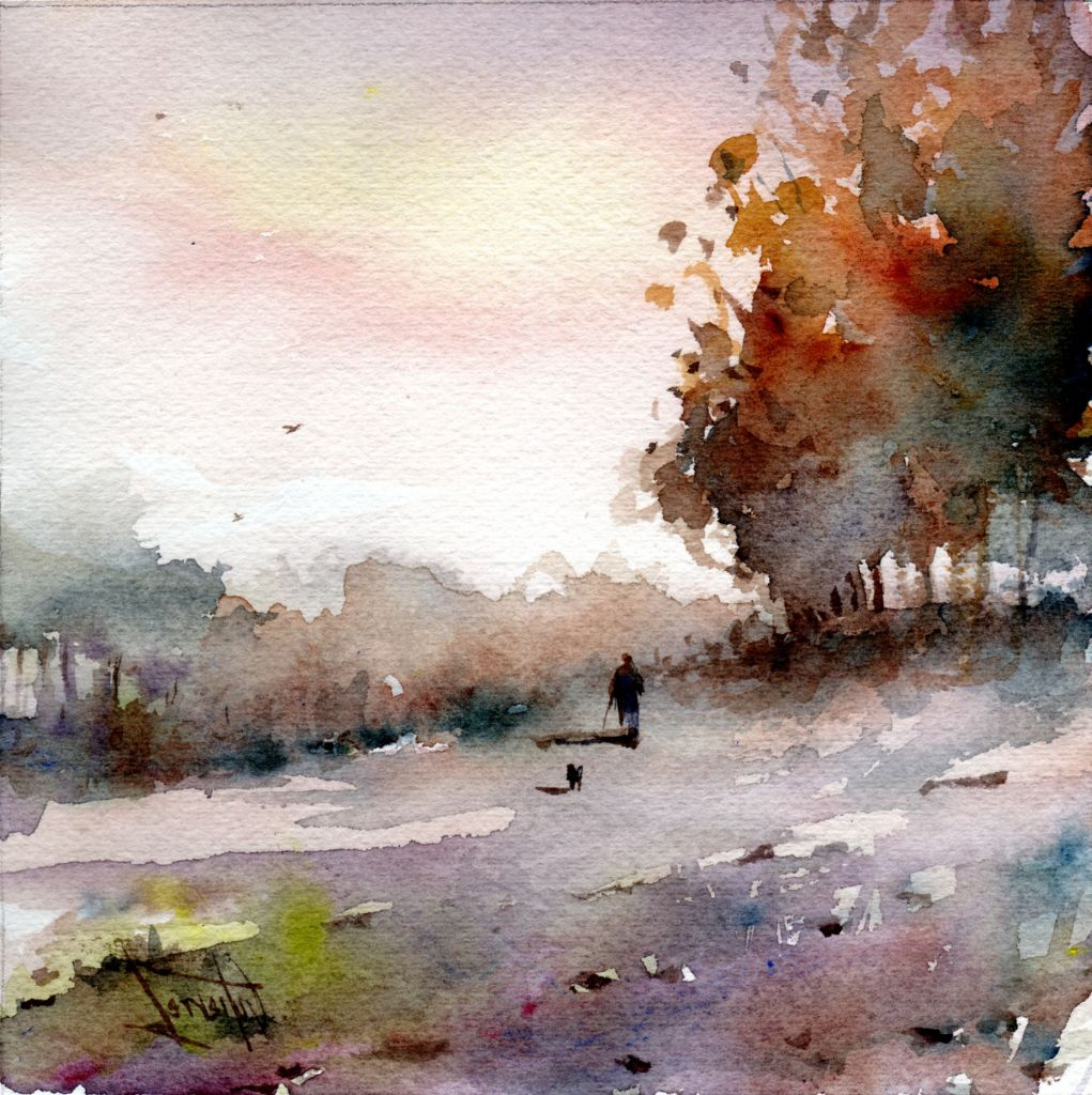 Famous Watercolor Paintings Landscapes Famous Watercolour