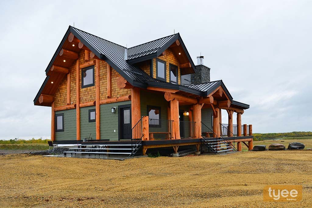 Image result for alberta bc post beam log homes Homes