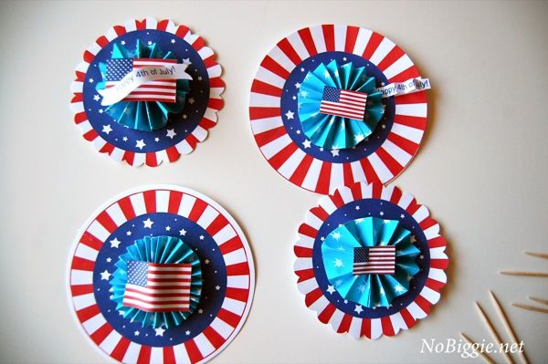 Free 4th of July party medallions - can use for party favors or ?