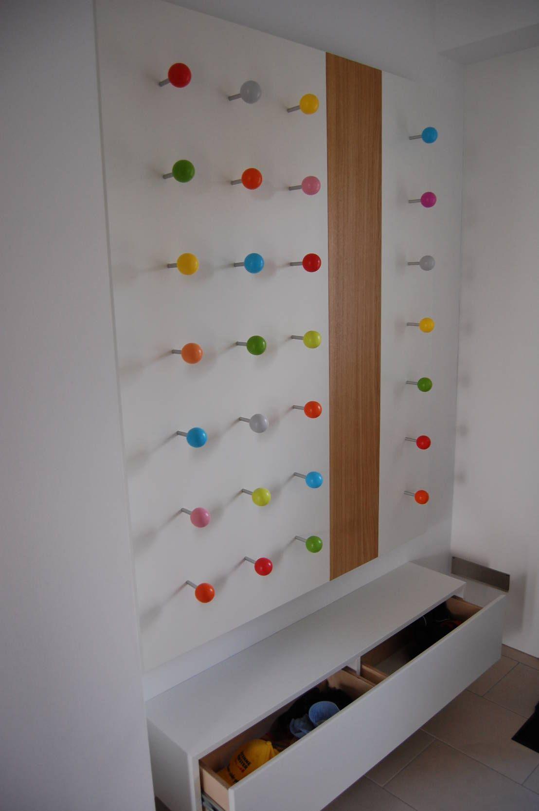 Einzigartig Garderobenhaken Kinderzimmer Galerie Von Garderobe Für Kinder By Tricform : Moderne