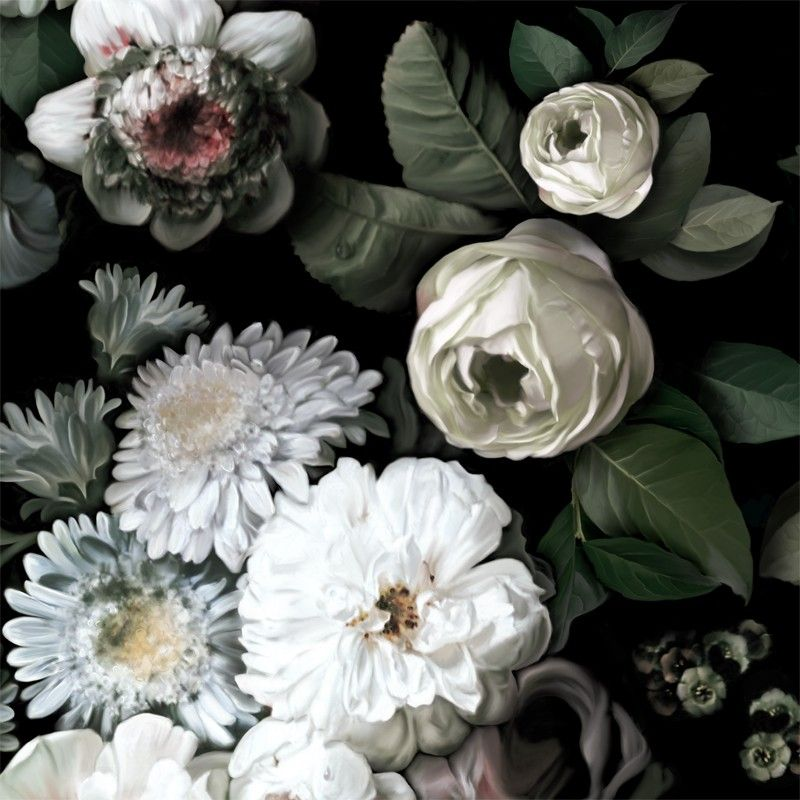 Best Dark Floral Wallpaper By Ellie Cashman Design Wallpapers Pinterest Floral Wallpapers And 400 x 300