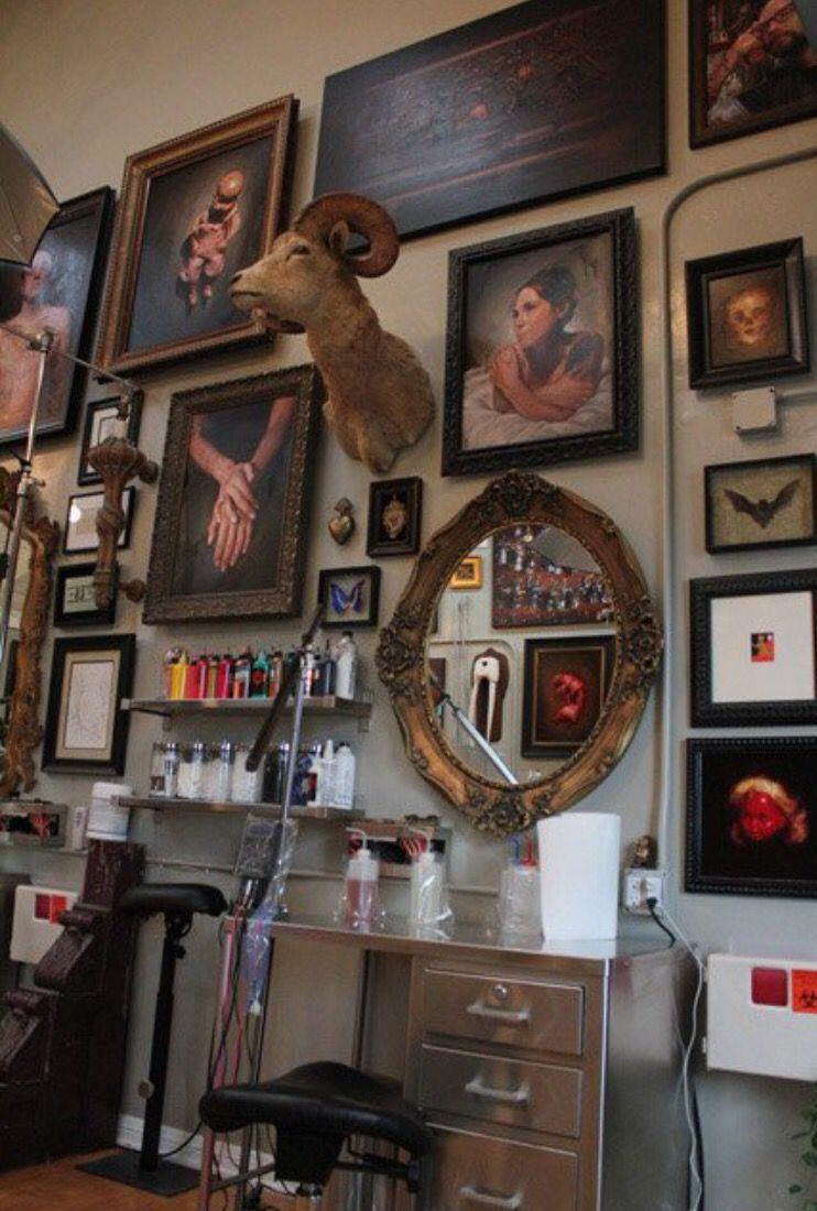 Memoir Tattoo Studio Tattoo studio interior, Tattoo shop