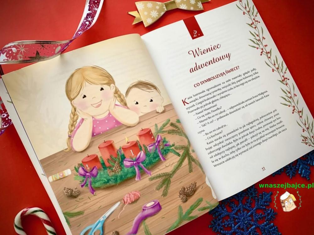 Kalendarz Adwentowy Barbara Garczynska Wnaszejbajce Pl Book Cover Books Cover